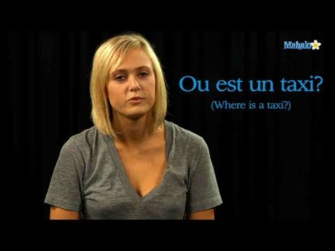How to Ask For a Taxi in French