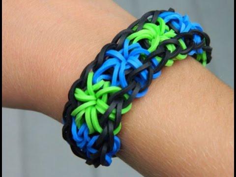 How To Make The Starburst Rainbow Loom Bracelet
