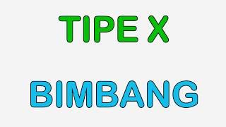 Lirik Tipe X Bimbang