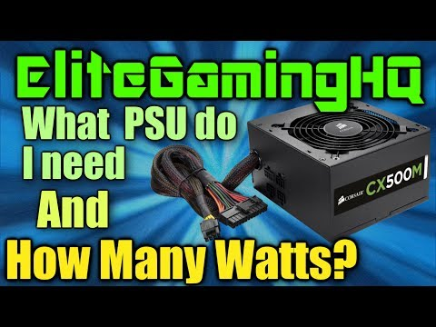 Best PSU for gaming? What power supply do I need?