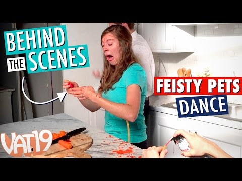 Feisty Pets: The Dance [Behind the Scenes]