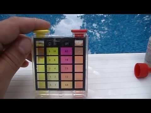How To Test Swimming Pool Water Chlorine and PH Level With Test Kit