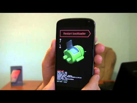 Google Nexus 4 how to reset phone | Epic Reviews Tech CC