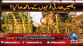 Pakistan Army gives a strong reply to Enemy India