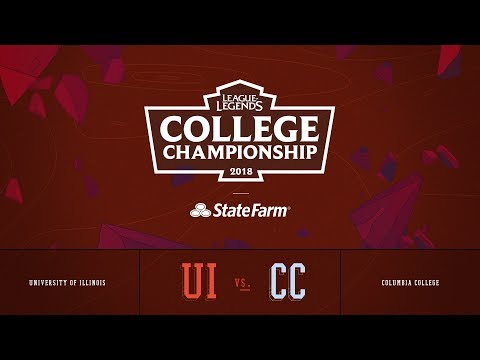 Columbia vs Illinois | Semifinals Game 1 | 2018 College Championship | CC vs UI