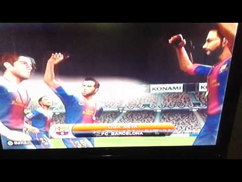 Barcelona campeon de Liga PES 2014