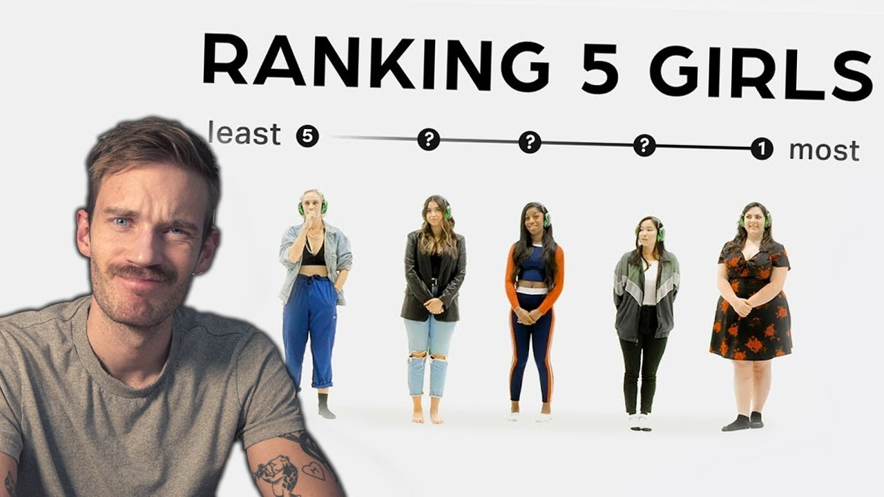 Ranking Girls by Appearance - Jubilee React #14