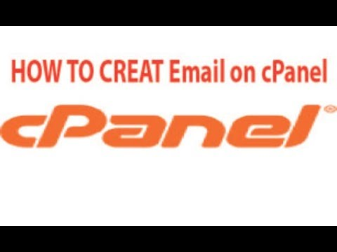 How to create a email on c panel account