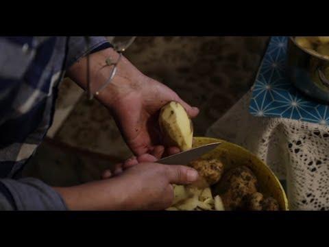 Easy Way to Peel Potatoes