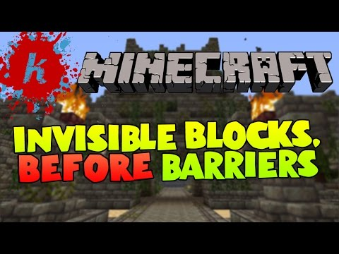 Minecraft   How to create invisible/ghost blocks   [1.7]