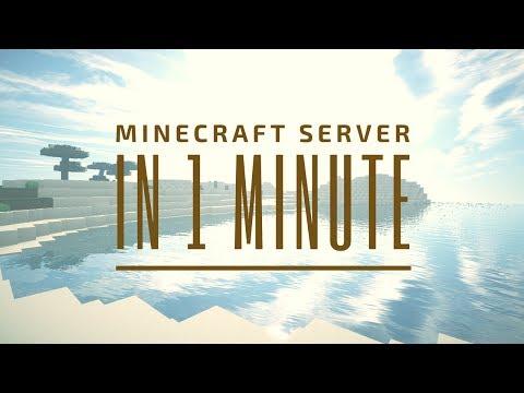 IN MINUTE Eigenen MINECRAFT SERVER ERSTELLEN VanillaSpigotForge - Eigenen minecraft server erstellen ohne hamachi