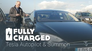 Tesla Autopilot - Summon | Fully Charged