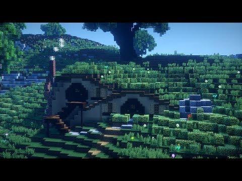 Minecraft Hobbit House! Minecraft Timelapse!!