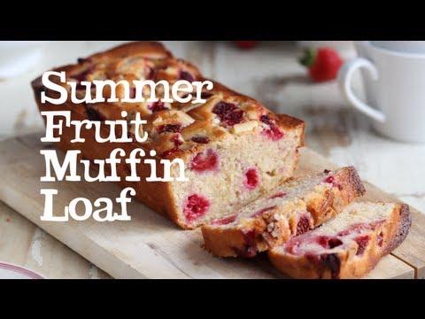 Summer Fruit Muffin Loaf   Abel & Cole