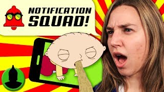 What is the GROSSEST Cartoon Moment?! Ft. Ivan Animated Notification Squad S2 E7!