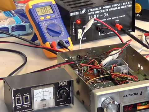 Measuring RF Output power on CB radios - Servicing CB radio on a shoestring budget pt2