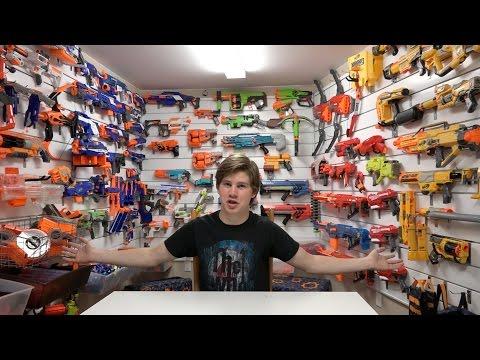 Top 5 Ways to Store Nerf Guns!!!