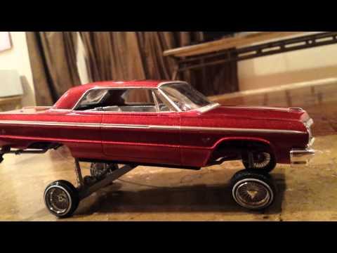 64 Impala lowrider model car hopper