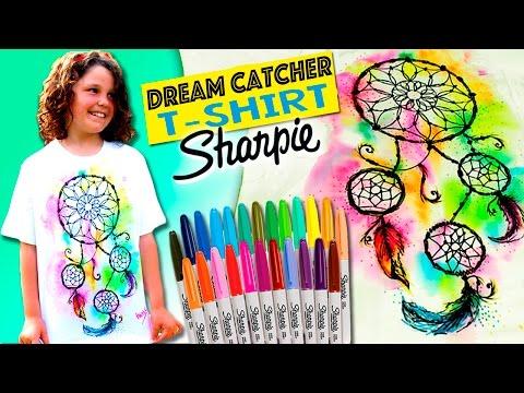 DREAMCATCHER Tie Dye T-SHIRT * DIY hippie clothes