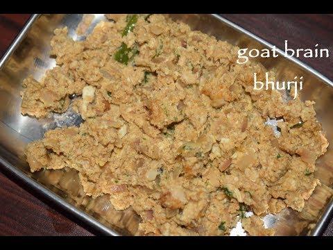 Goat Brain Bhurji / Goat Brain Fry / Simple and tasty brain fry recipe / Non veg recipes
