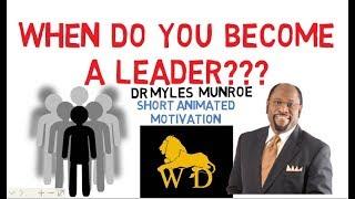 INTERESTING STORY ON LEADERSHIP DEVELOPMENT by Myles Munroe (Amazing)
