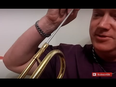 The LAZY and QUICK way to Clean Your Trumpet by Kurt Thompson