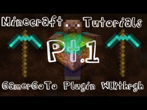 GamerGoTo Bukkit Plugin Walkthrough/Tutorial Part 1