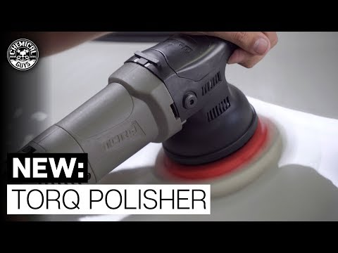 First Look: ALL NEW TORQ 15mm Long Throw Polisher! - Chemical Guys