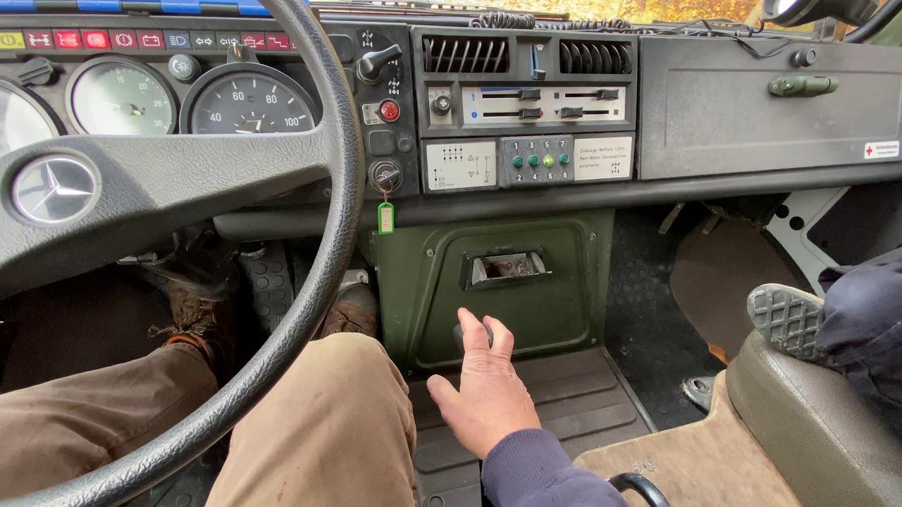 UNIMOG U1300L Ambulance Test Drive