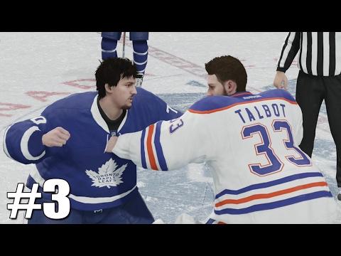 NHL 17 - Goalie Be a Pro #3 - GOALIE FIGHT!