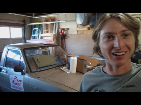 How to remove bumper stickers (Vlog crap)