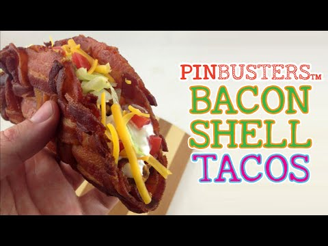 How To Make Tacos With A Bacon Shell // HOW HARD IS THIS, REALLY?