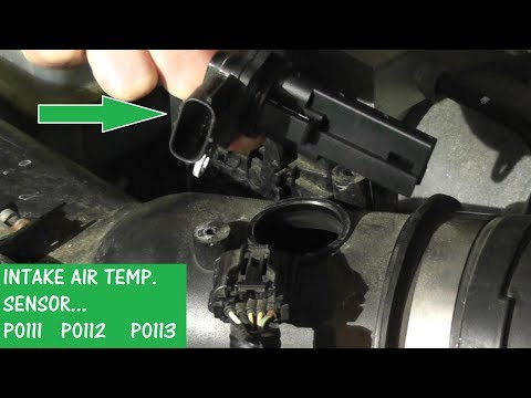How to Test and Replace an Intake Air Temperature Sensor P0111 / P0112  / P0113