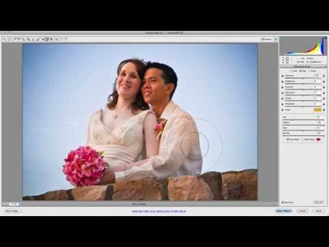Camera Raw: Clarity, Vibrance & Saturation Sliders