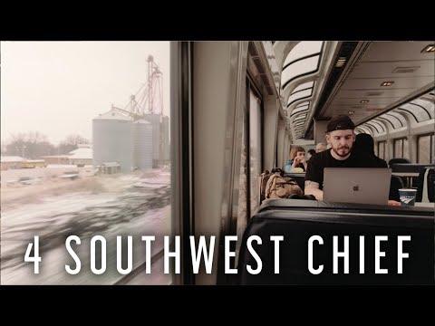 AMTRAK ACROSS AMERICA - Episode 10 (4 Southwest Chief- Albuquerque to Chicago)