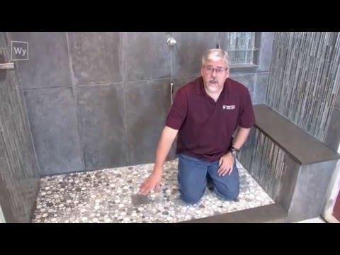 Floor Heating for under Shower Floors &  Shower Bench Seats