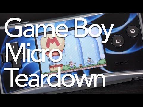 Game Boy Micro Teardown
