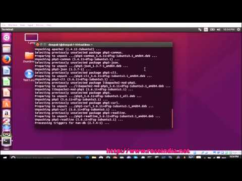 How to install PHP and modules in Ubuntu?