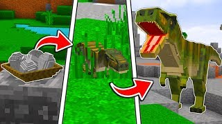 Minecraft | DINOSAURS IN MINECRAFT | NO MODS | Custom