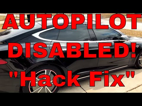 Tesla Drivers Assistance Features Unavailable Hack Quick Fix
