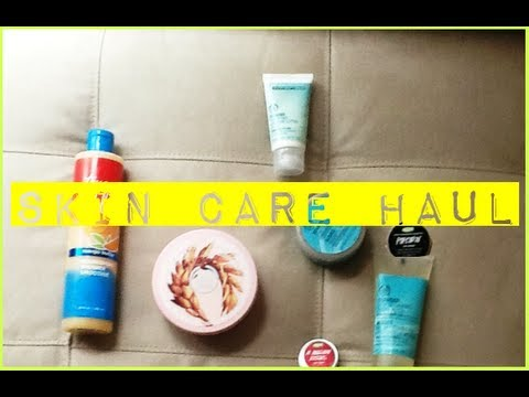 Skin Care Haul! (Ft. Lush, The Body Shop, Bath & Body Works)