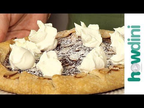 How to make raspberry chocolate almond crostata