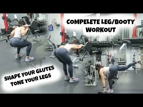 SHAPE Your Glutes | TONE Your Legs | Complete Workout