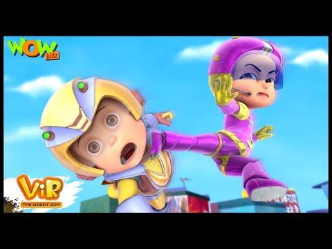 Xxx Mp4 Vir The Robot Boy Hindi Cartoon For Kids Vir Ek Villian Animated Series Wow Kidz 3gp Sex