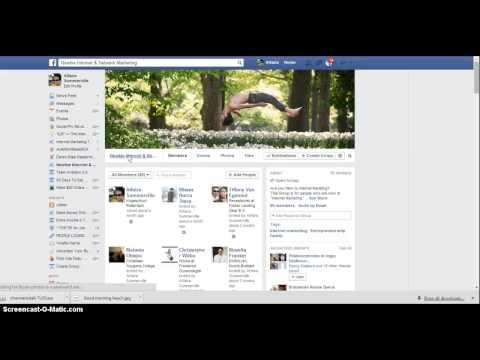 ADD Make admin members & Remove members from Facebook group