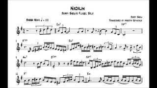 Freddie Hubbard Jazz Blues Solo Transcription (Birdlike)