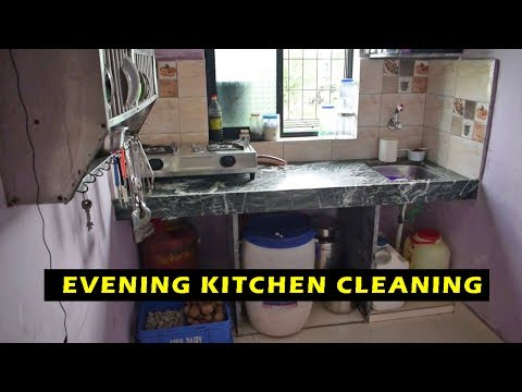 VERY SMALL INDIAN KITCHEN  | KITCHEN TOUR |  ORGANIZE KITCHEN WITHOUT CABINETS