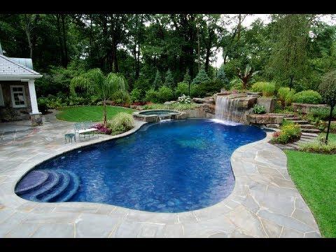 Beautiful Swimming Pool Landscaping Design Ideas