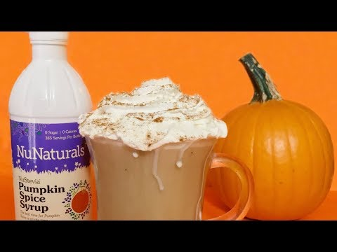 How to Make Sugar Free Pumpkin Spice Latte