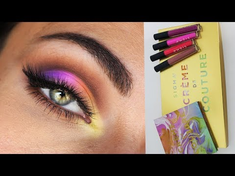 Sigma Crème De Couture Holiday 2017 Collection | Review, Swatches and Tutorial  MakeupAndArtFreak